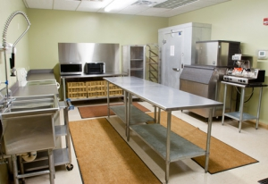 Fully equipped catering kitchen