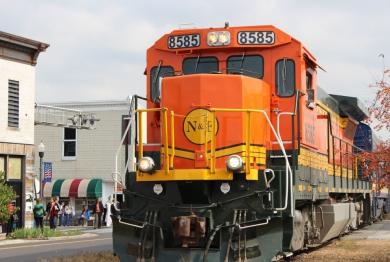 Fall Foliage Train Excursion, Cookeville, TN
